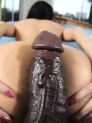 She loves Big cock and waste no time getting naked and preparing for a stuffing of a life time.